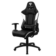Aerocool ThunderX3 EC3 Gaming Chair Black White