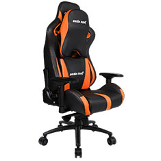 Anda Seat AD12XL-03 Gaming Chair XL Headrest Black Orange