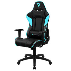 Aerocool ThunderX3 EC3 Gaming Chair Black Cyan