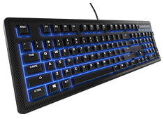 SteelSeries Apex 100 Blue LED Keyboard