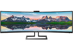Philips 499P9H1 DQHD S-Ultrawide Curved 49in Monitor