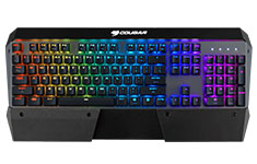 Cougar Attack X3 RGB Mechanical Gaming Keyboard Cherry Brown