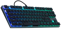 Cooler Master MasterKeys SK630 RGB Low Profile MX Red TKL