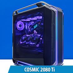 PCCG Cosmic 2080 Ti Gaming System