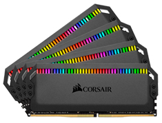 Corsair Dominator Platinum RGB 3000Mhz 64GB (4x16GB) DDR4