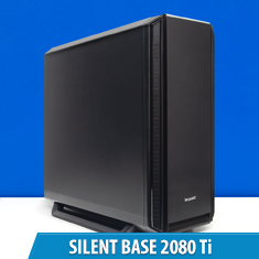 PCCG Silent Base 2080 Ti Gaming System