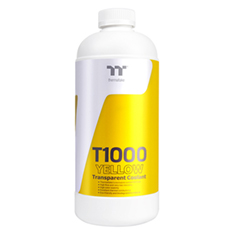 Thermaltake T1000 Transparent Coolant 1L Yellow