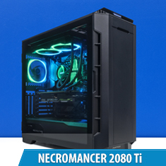 PCCG Necromancer 2080 Ti Gaming System