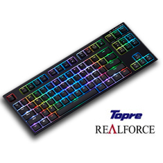 Topre Realforce RGB TKL Premium Gaming Keyboard