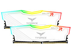 Team T-Force Delta RGB 2400MHz 16GB (2x8GB) DDR4 White