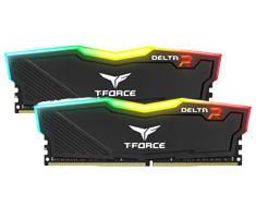 Team T-Force Delta RGB 2400MHz 16GB (2x8GB) DDR4 Black
