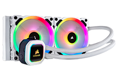 Corsair Hydro H100i RGB Platinum SE 240mm Liquid CPU Cooler