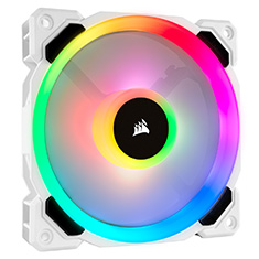 Corsair LL120 RGB 120mm Independent RGB PWM Fan White