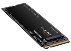 Western Digital Black SN750 NVMe M.2 SSD 250GB