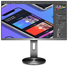 AOC U2790PQU 27in IPS UHD Flicker Free Monitor