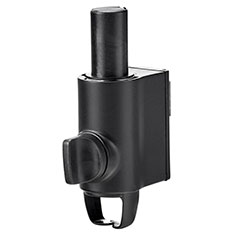 Atdec AWM-LC-B Post Channel Clamp Black