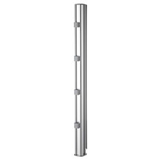 Atdec AWM-P75-S 750mm Post Desk Mount Silver