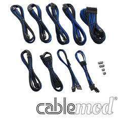 CableMod PRO ModMesh RT-Series Cable Kit Black Blue