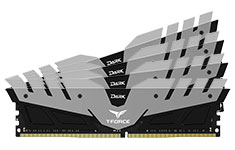 Team T-Force Dark 64GB (4x16GB) 3200MHz CL16 DDR4 Grey Black