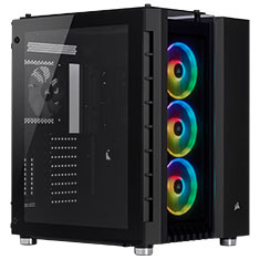 Corsair Crystal Series 680X Tempered Glass Case Black