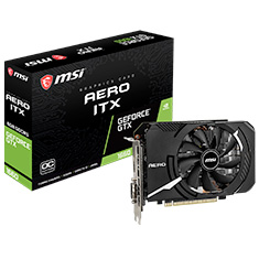 MSI GeForce GTX 1660 Aero ITX OC 6GB