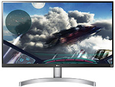 LG 27UL600-W 27in UHD IPS HDR FreeSync Monitor