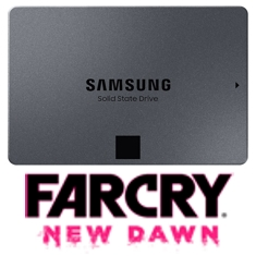 Samsung 860 QVO 2.5in SATA SSD 4TB Far Cry Bundle