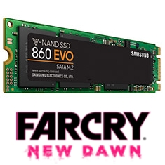 Samsung 860 EVO M.2 SATA SSD 2TB Far Cry Bundle