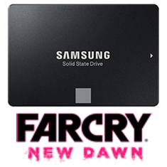 Samsung 860 EVO 2.5in SATA SSD 4TB Far Cry Bundle