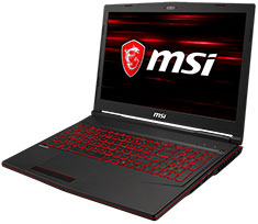 MSI GL63 Core i7 RTX 2060 15.6in Notebook