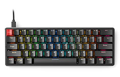 Glorious GMMK RGB Compact Mechanical Keyboard Brown Switch