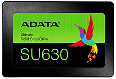 ADATA SU630 2.5in SATA SSD 240GB