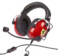 Thrustmaster T-Racing Scuderia Ferrari Gaming Headset