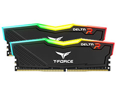 Team T-Force Delta RGB 3200MHz 32GB (2x16GB) DDR4 Black
