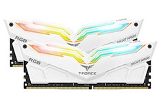 Team T-Force Night Hawk RGB 3200MHz 32GB (2x16GB) DDR4 White