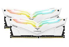 Team T-Force Night Hawk RGB 3200MHz 32GB (2x16GB) DDR4 White