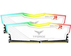 Team T-Force Delta RGB 32GB (2x16GB) 3200MHz CL16 DDR4 White
