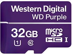 Western Digital WD Purple 32GB Survillance microSD Card