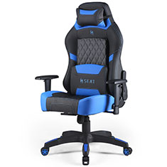 N.Seat Pro 500 Series Gaming Chair Black Blue