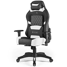 N.Seat Pro 500 Series Gaming Chair Black White