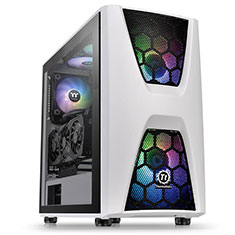 Thermaltake Commander C34 TG ARGB Case Snow Edition