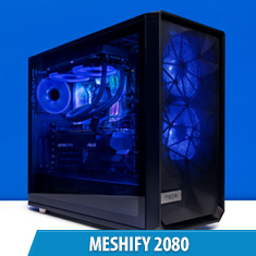 PCCG Meshify 2080 Gaming System