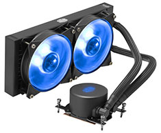 Cooler Master MasterLiquid ML240 RGB AIO Cooler for TR4