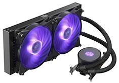 Cooler Master MasterLiquid ML280 RGB AIO Cooler for TR4