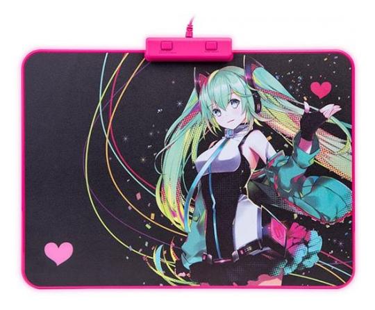 Tt ESports Draconem RGB Mouse Pad Hatsune Miku Edition