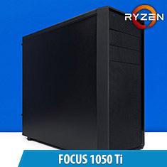 PCCG Focus 1050 Ti Gaming System