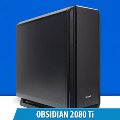 PCCG Obsidian 2080 Ti Gaming System