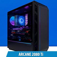 PCCG Arcane Trio X 2080 Gaming System
