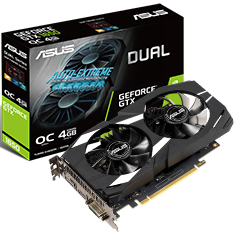 ASUS GeForce GTX 1650 Dual Fan OC 4GB