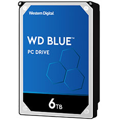 Western Digital WD Blue 6TB WD60EZAZ 3.5in Hard Drive